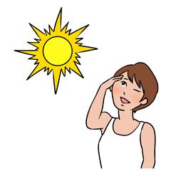 紫外線による肌悩み
